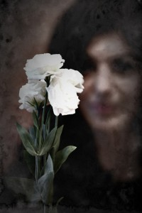 portrait, fleur, femme, vinage Christina Alonso Photographies© Montréal 2014