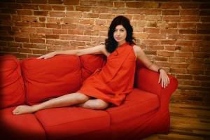 Portrait, rétro, année 60, sixties, femme, beauté, Christina Alonso Photographies©, Montréal, 2014