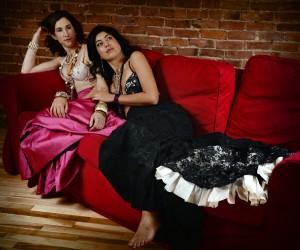 portrait, amitié, flamenco Christina Alonso Photographies©, Montréal 2014