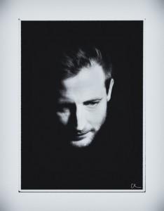 Vincent Ferlat portrait homme noir et blanc B&W Christina Alonso ©