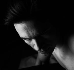 Vincent Letarte portrait homme noir et blanc B&W Christina Alonso ©