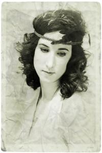Portrait, rétro, vintage, année30, femme, beauté, Christina Alonso Photographies©, Montréal, 2014